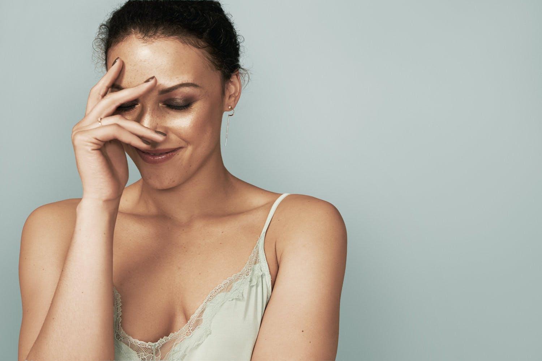 Eyebrow threading or waxing