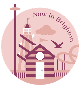 Now in Brighton logo