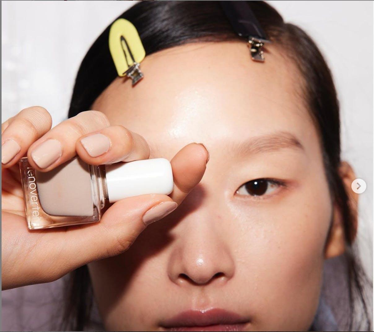 nails at London Fashion Week